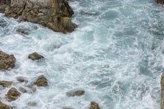 Ocean Water Splash At Big Sur. California. Ocean Pacific Water Splash At Big Sur. California Royalty Free Stock Photography