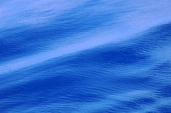 Ocean water surface. Ripples on ocean water surface, background Royalty Free Stock Image
