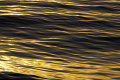 Ocean water surface Royalty Free Stock Photos
