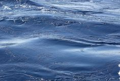 Ocean water surface Stock Images