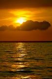 Ocean water surface Stock Image