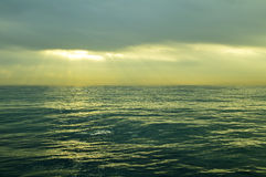 Ocean water surface Stock Photo