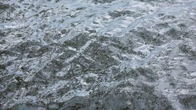 Ocean water surface, slow motion stock video