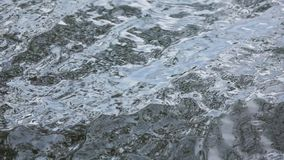 Ocean water surface, slow motion stock footage