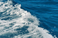 Ocean water surface texture royalty free stock photography