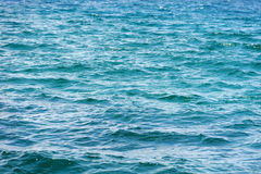 Ocean water surface texture stock image