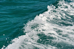 Ocean water surface texture royalty free stock photo
