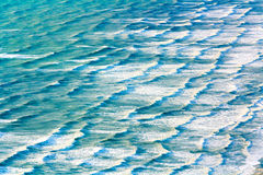 Ocean water texture. Location - Wellington, Kapiti Island, North Island, New Zealand Stock Photography