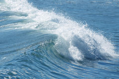 Ocean water with waves Royalty Free Stock Image