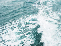 Ocean water Waves Surface texture. Stock Images