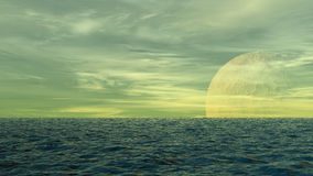 Ocean waterscape Royalty Free Stock Photo