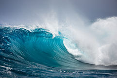 Ocean wave. Big wave in the Ocean Royalty Free Stock Photography