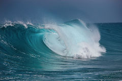Ocean wave. Big wave in the ocean stock images