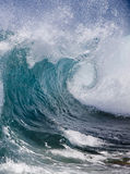Ocean wave. In stormy weather stock photo