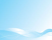 Ocean wave. Abstract illustrated background with a ocean theme and plenty of room for your own copy Stock Image