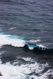 Ocean wave. Blue ocean wave from bali Royalty Free Stock Photography