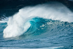 Ocean wave. Close-up of a beautiful ocean wave Stock Image