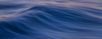 Ocean Wave Banner. Soft focus wave banner, Atlantic Ocean Royalty Free Stock Image