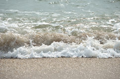 Ocean wave at the beach Royalty Free Stock Photography