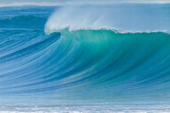 Ocean Wave Blue Closeup Royalty Free Stock Photo