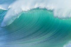 Ocean Wave Blue Closeup Stock Photos