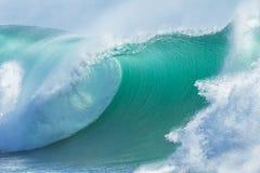 Ocean Wave Blue Closeup Royalty Free Stock Image