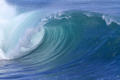 Ocean wave. Blue ocean wave.Indian ocean Royalty Free Stock Photography