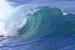 Ocean wave. Blue ocean wave.Indian ocean Royalty Free Stock Photos