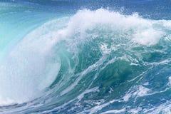 Ocean wave. Blue ocean wave.Indian ocean Stock Photo