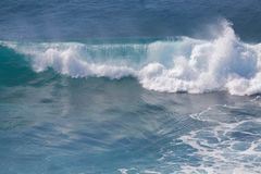Ocean Wave Breaking Stock Image