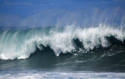 Ocean wave breaking Stock Photography