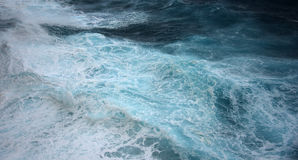 Ocean wave close up texture Royalty Free Stock Image