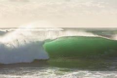 Ocean Wave Closeup Crashing Royalty Free Stock Photography