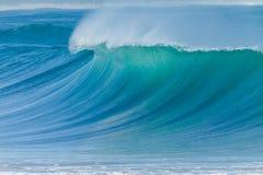Ocean Wave Closeup Water Stock Image