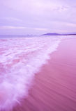 Ocean Wave in the Evening Royalty Free Stock Image