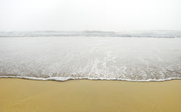 Ocean Wave in Fog Royalty Free Stock Image