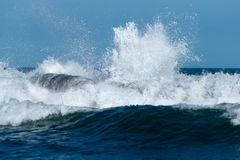 wave of surf Royalty Free Stock Images