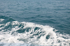 Ocean wave in the Gulf of Thailand Royalty Free Stock Image