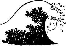 Ocean Wave Illustration Stock Image