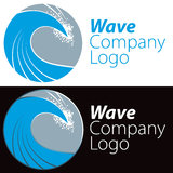 Ocean Wave Logo Stock Image