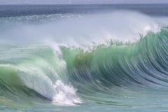 Ocean Wave. Picture of Perfect Ocean Wave. Indian Ocean Stock Photos
