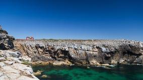 Ocean wave rock Stock Photo