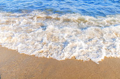 Ocean wave rush close up Stock Photo