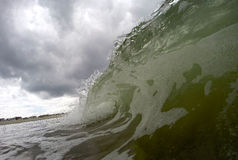 Ocean wave during a storm Stock Photography