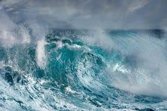 Ocean Wave. In stormy weather Stock Photos