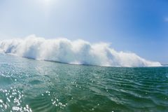 Ocean Wave Swimming Exploding White Water Royalty Free Stock Images