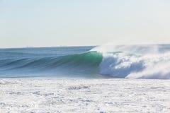 Ocean Wave Water Wall Stock Image