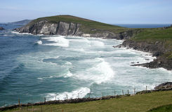 Ocean Waves. Wild Atlantic waves off the West coast of Ireland Royalty Free Stock Photos