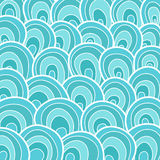 Ocean waves. Abstract background of ocean waves. Vector Graphics Royalty Free Stock Photo