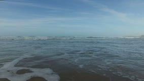 Ocean waves at the atlantic ocean stock video footage